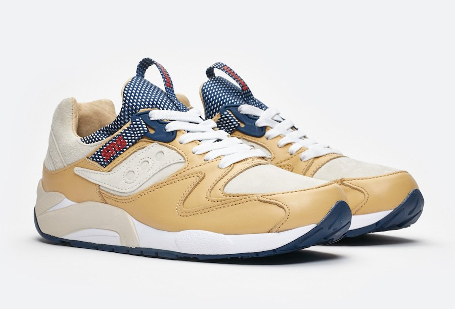 Sneakersnstuff Saucony Grid 9000 Business Class