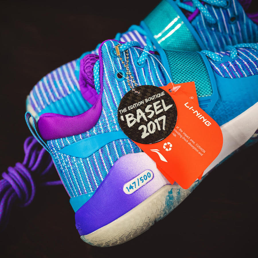The Edition Boutique Li-Ning Way of Wade 6 Art Basel Exclusive