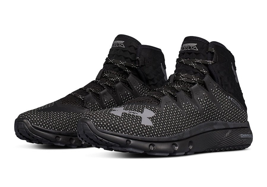 The Rock Under Armour Project Rock Delta Black 3020175-001