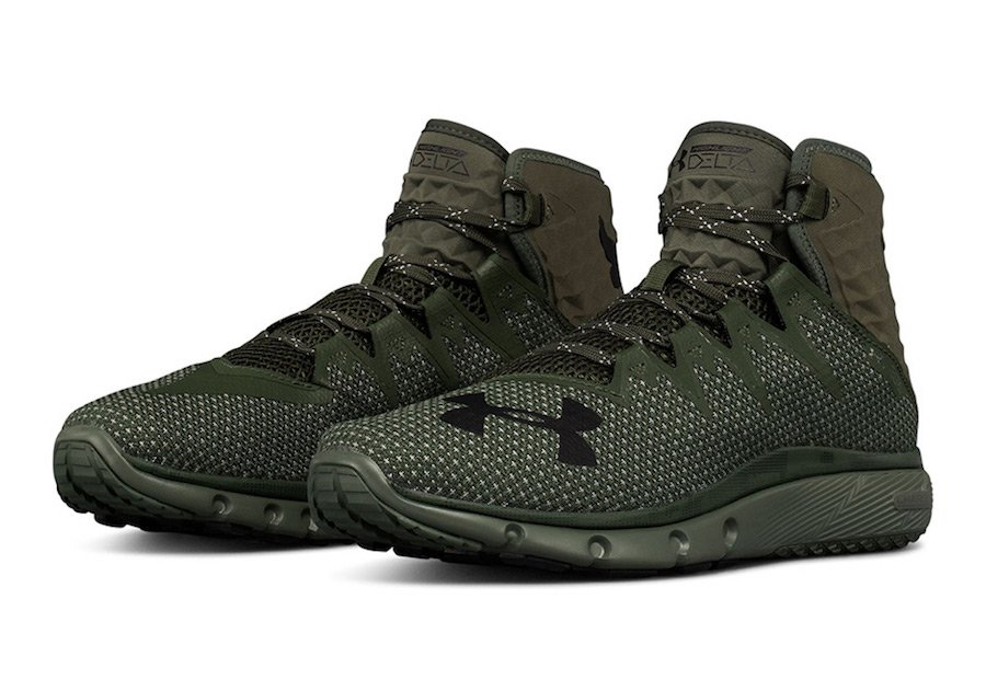 purchase cheap af93e 4a51a The Rock Under Armour Project Rock Delta Olive 3020175-300
