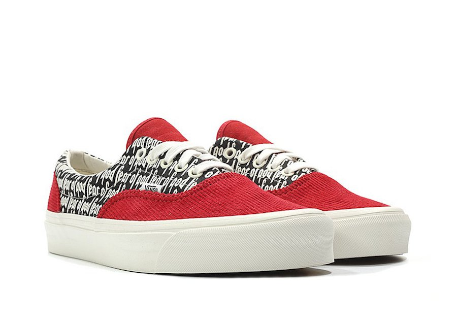 Vans Fear of God Era Red