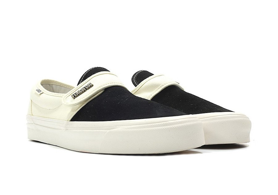 Vans Fear of God Slip-On Style 147 White Black