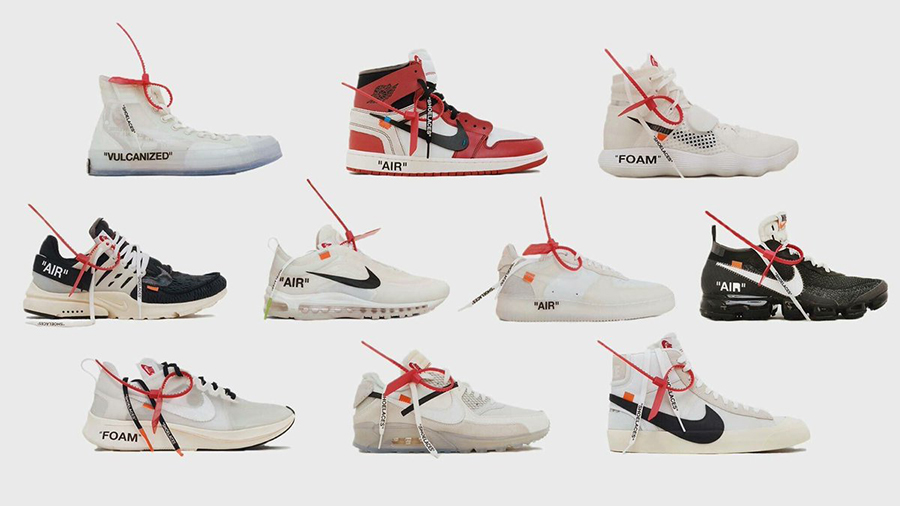 Virgil Abloh Nike The Ten Release Update