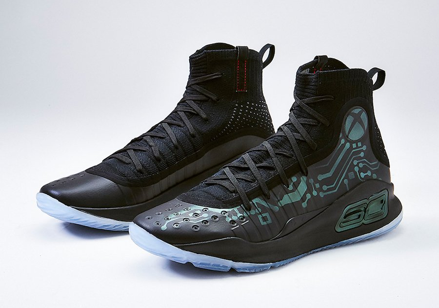 Xbox Mache Customs Under Armour Curry 4 More Power