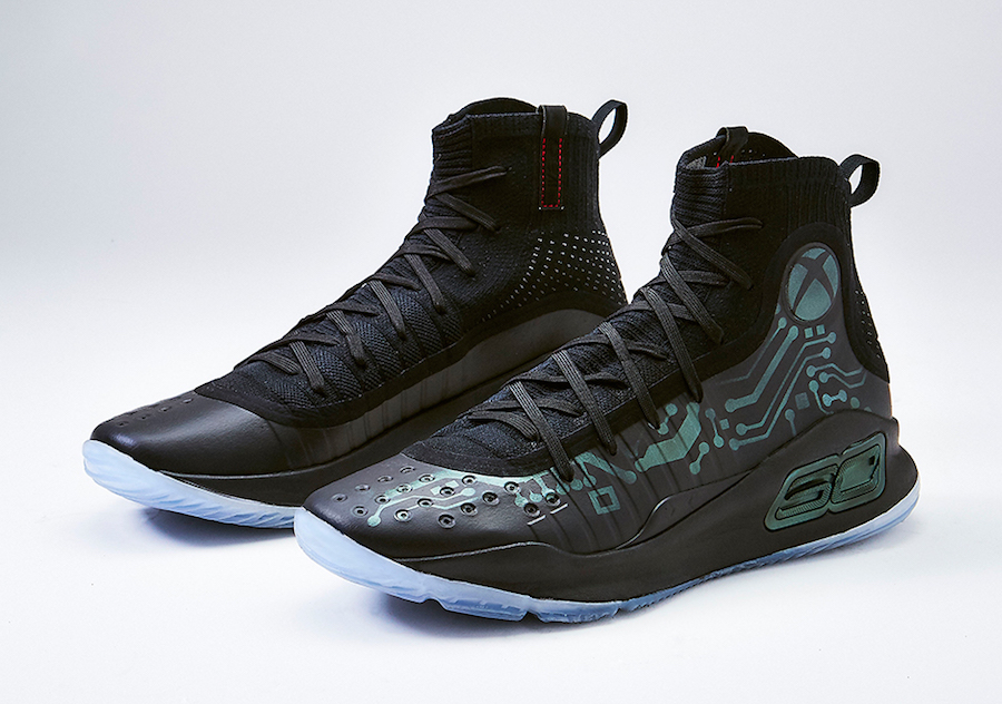 1fe44b135449 Xbox Mache Customs Under Armour Curry 4 More Power