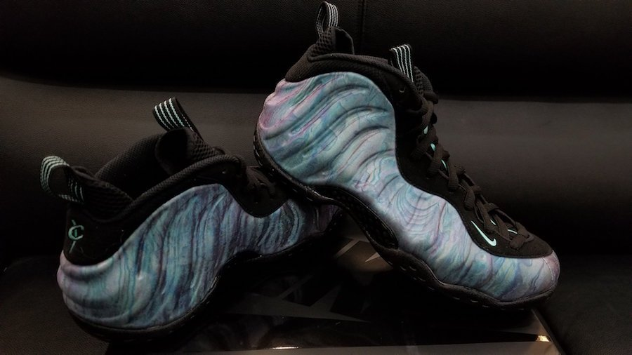 Abalone Nike Foamposite One