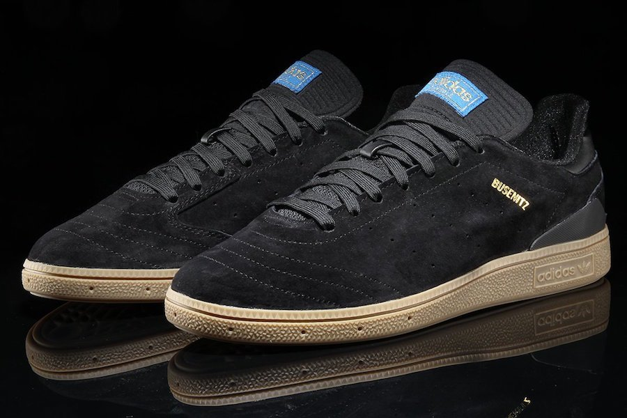 adidas Busenitz RX Black Gum CQ1161