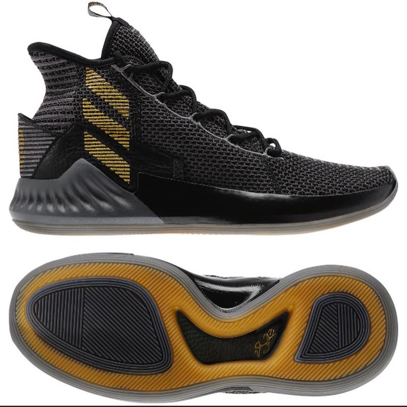 adidas D Rose 9 Black Gold