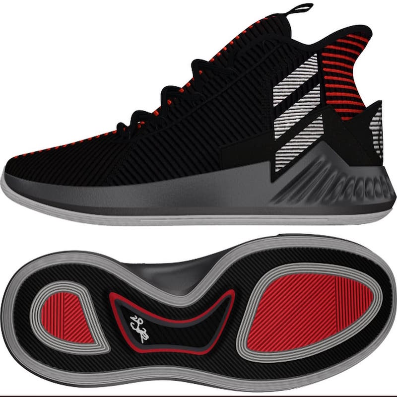 adidas D Rose 9 Black Red