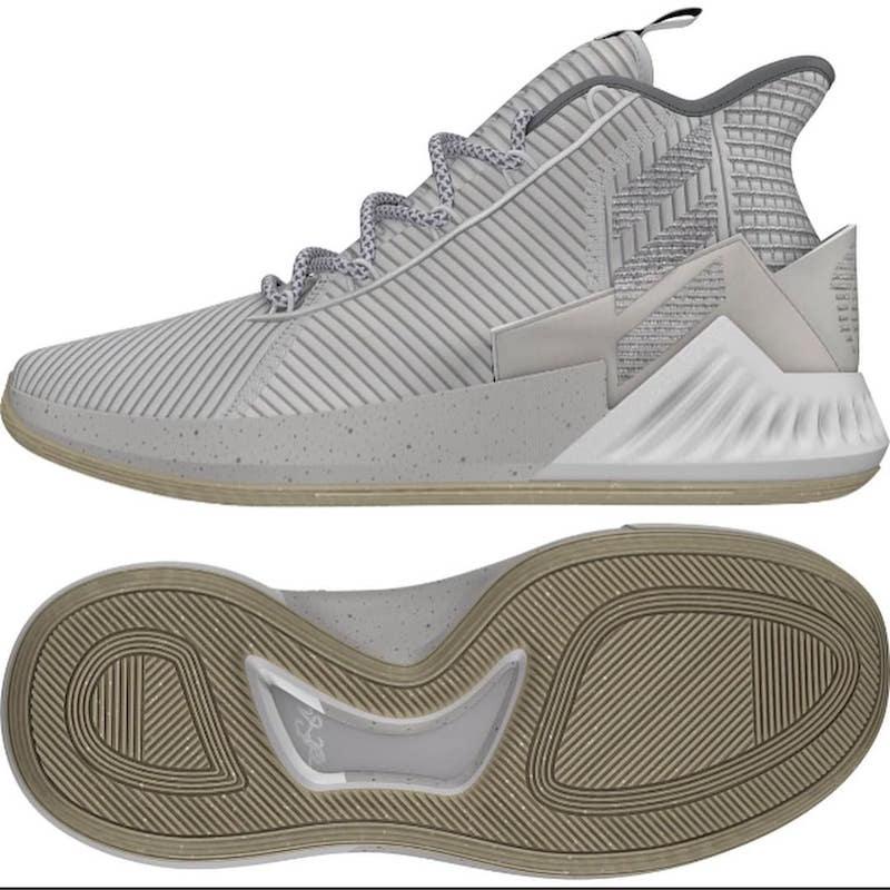 adidas D Rose 9 Grey