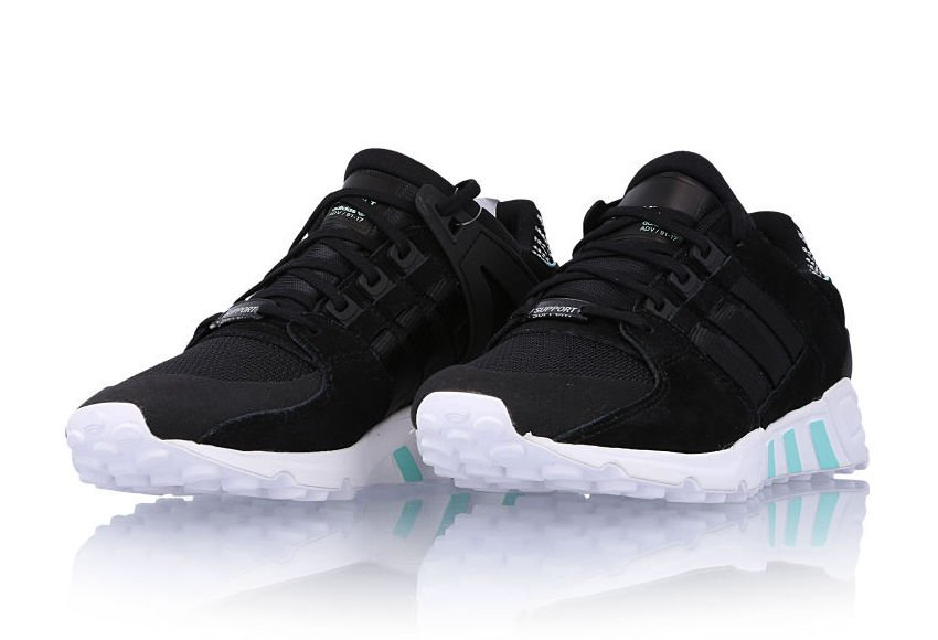 adidas EQT Support RF Core Black Light Aqua BY8783