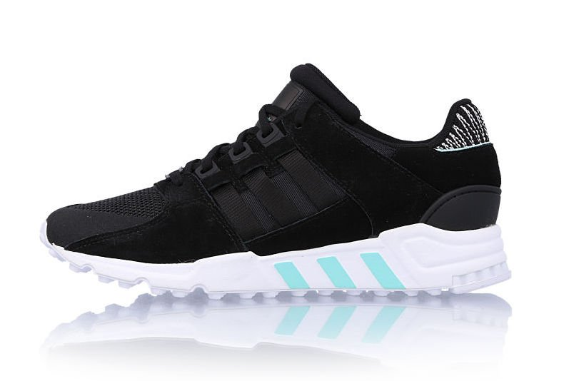 online store 98b96 5c943 adidas EQT Support RF Core Black Light Aqua BY8783 ...