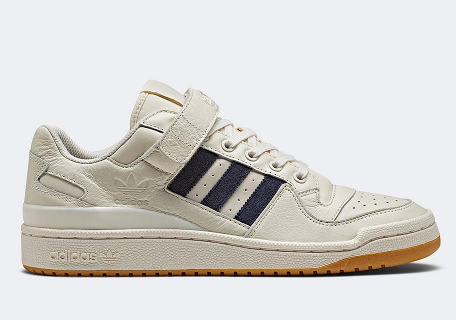 adidas Forum Low White Navy