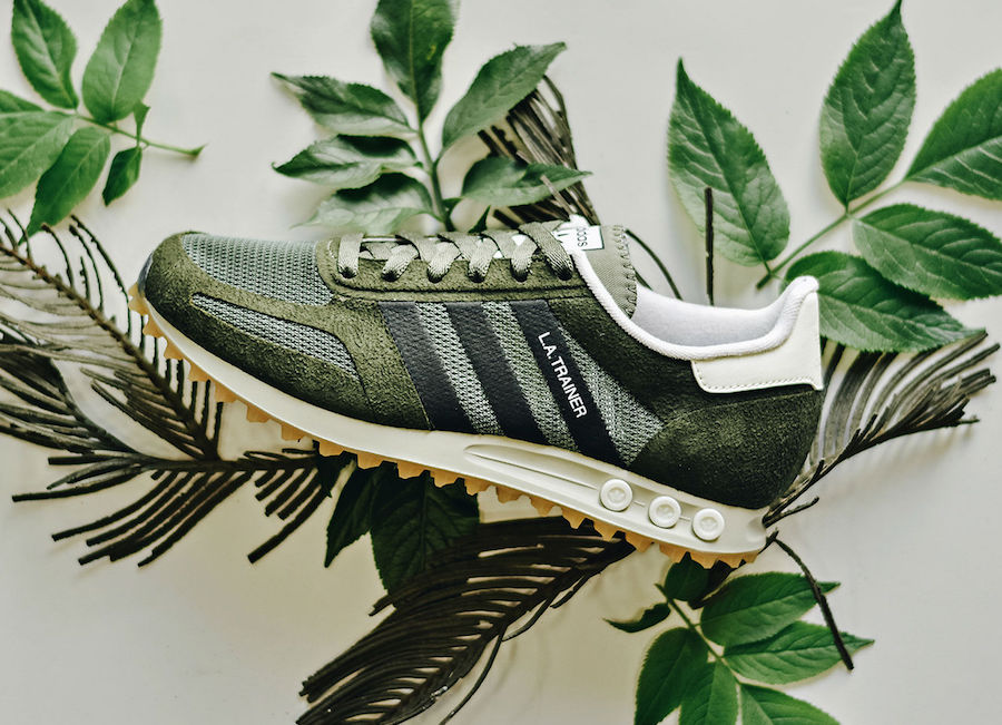 adidas LA Trainer Green BY9320   SneakerFiles