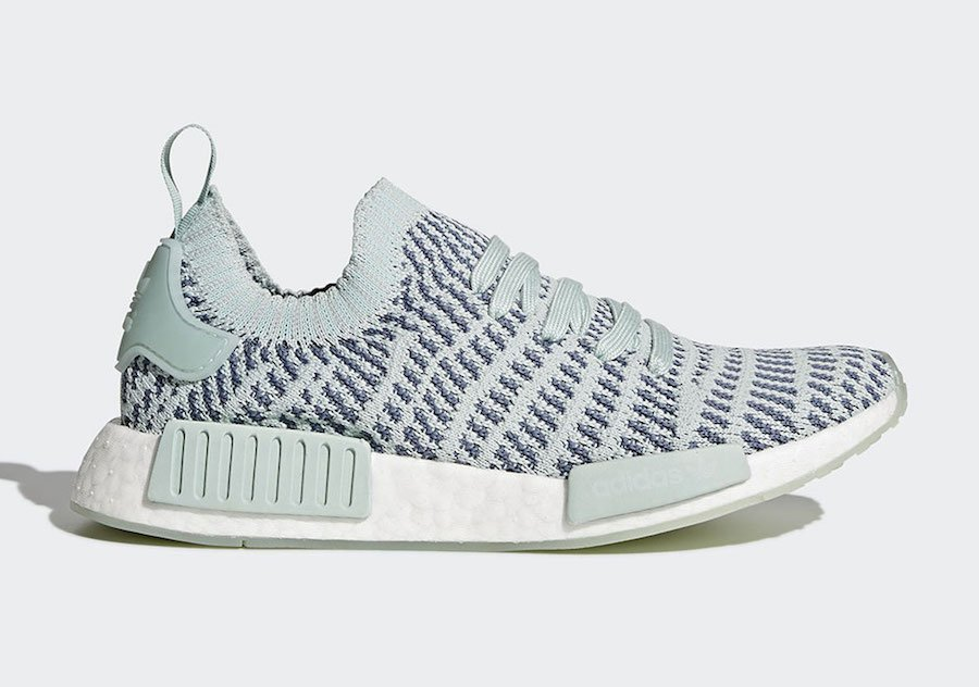 Adidas NMD R1 Women 6.5 BY3059 Nomad Boost Runner Vapour