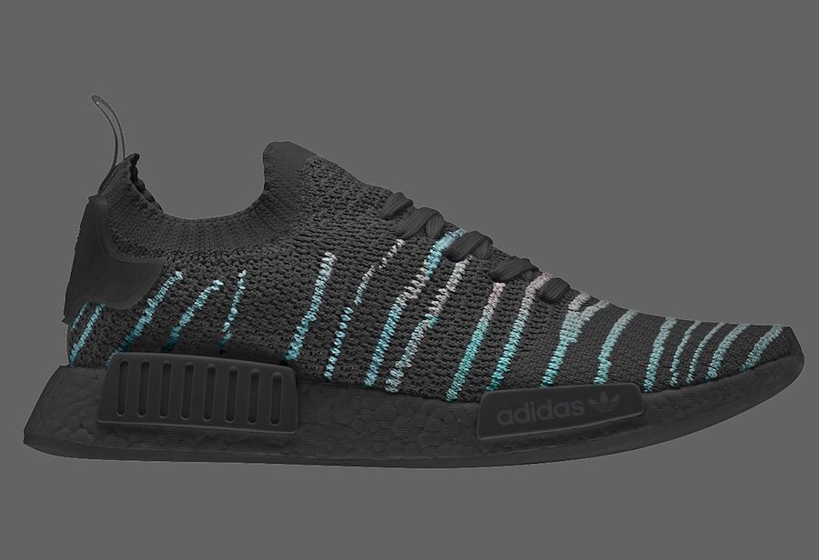 purchase cheap c7d67 6f586 adidas NMD R1 Primeknit STLT Parley Black | SneakerFiles
