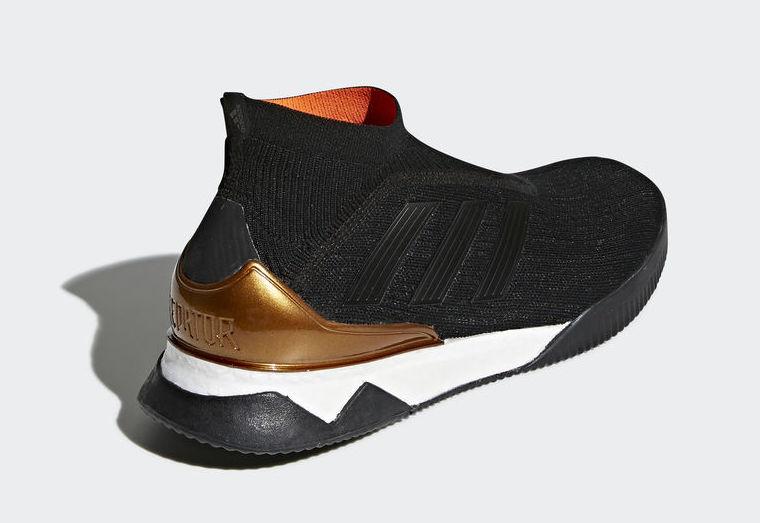brand new 8c17f f727c adidas Predator Tango 18+ Boost Black Infrared CM7685