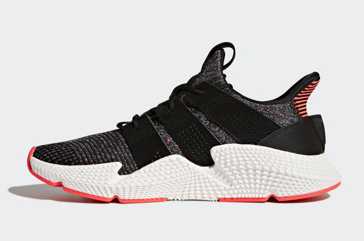 adidas Prophere Core Black Solar Red CQ3022