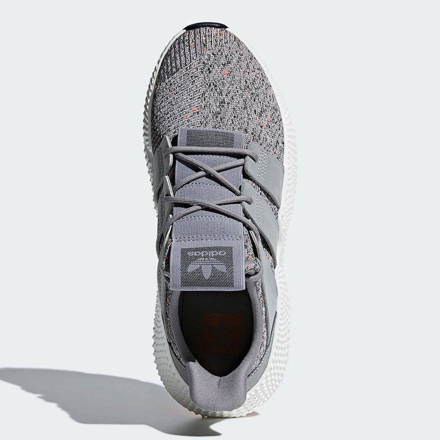 adidas Prophere Grey White Solar Red CQ3023