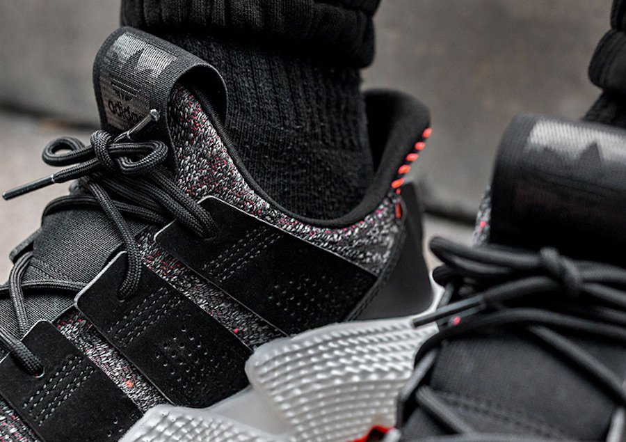 adidas Prophere Solar Red CQ3022 On Foot