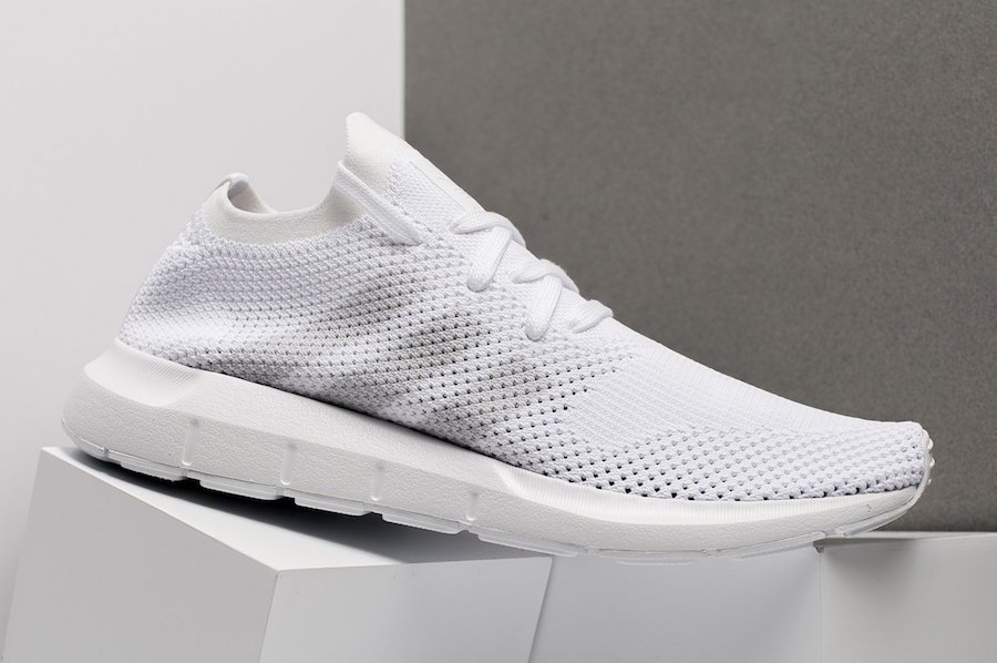 adidas Swift Run Primeknit Triple White CQ2892