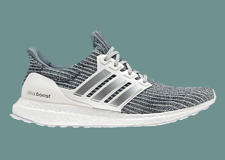 Adidas Originals x Parley Women's Ultraboost 4.0 in Tech Ink/Carbon