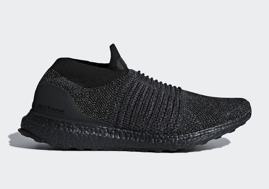 adidas Ultra Boost Laceless Triple Black BB6222  4162a43c3