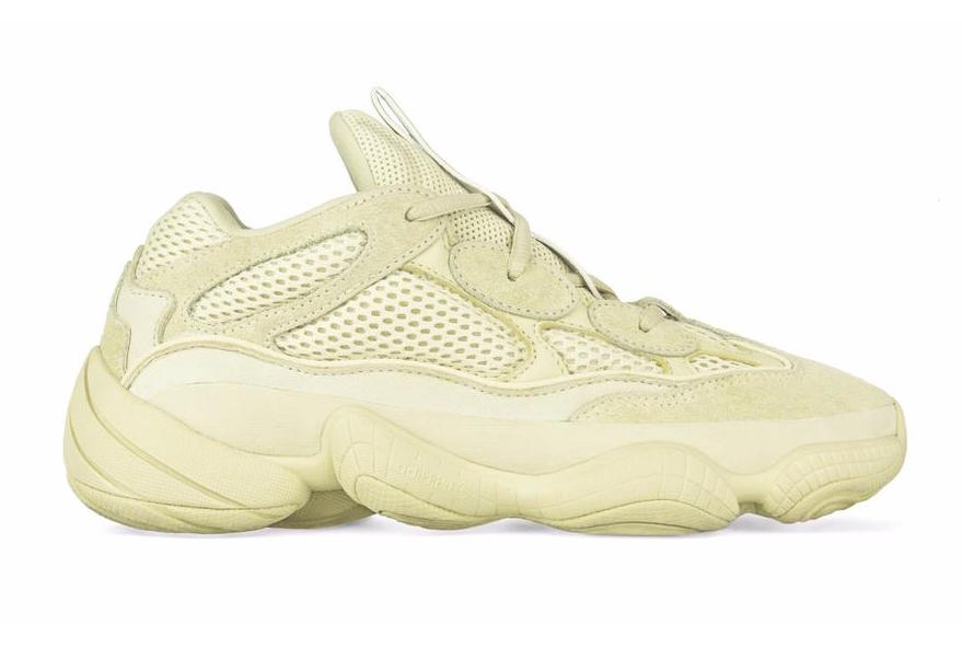more photos 4268d 3acd1 adidas Yeezy 500 Desert Rat Super Moon Yellow