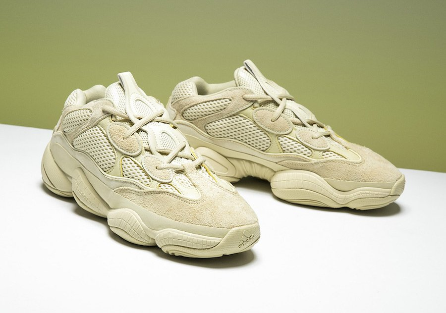 Adidas Yeezy 500 Desert Rat Super Moon Yellow Ultraviolet Releasing Fall