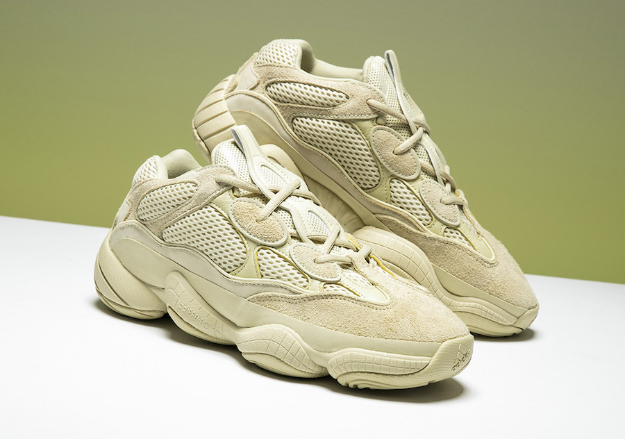 adidas Yeezy 500 Desert Rat Super Moon Yellow DB2966