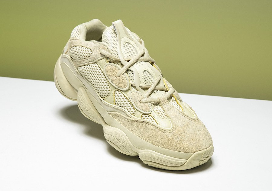 Adidas Yeezy Desert Rat 500 Moon Yellow Db2966 Super Deals