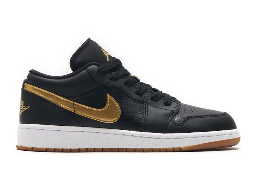 Air Jordan 1 Low Gold Gum 554723-032