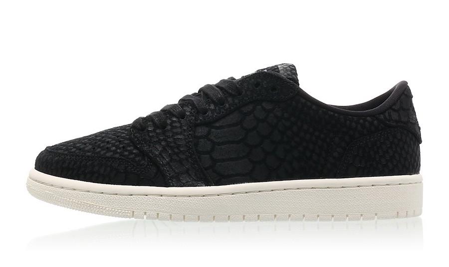 Air Jordan 1 NS Black Python AJ6004-010