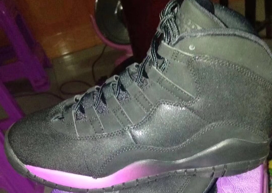 sports shoes 1dc6c 8fca0 Air Jordan 10 GS Black Pink 2018 Release Date | SneakerFiles