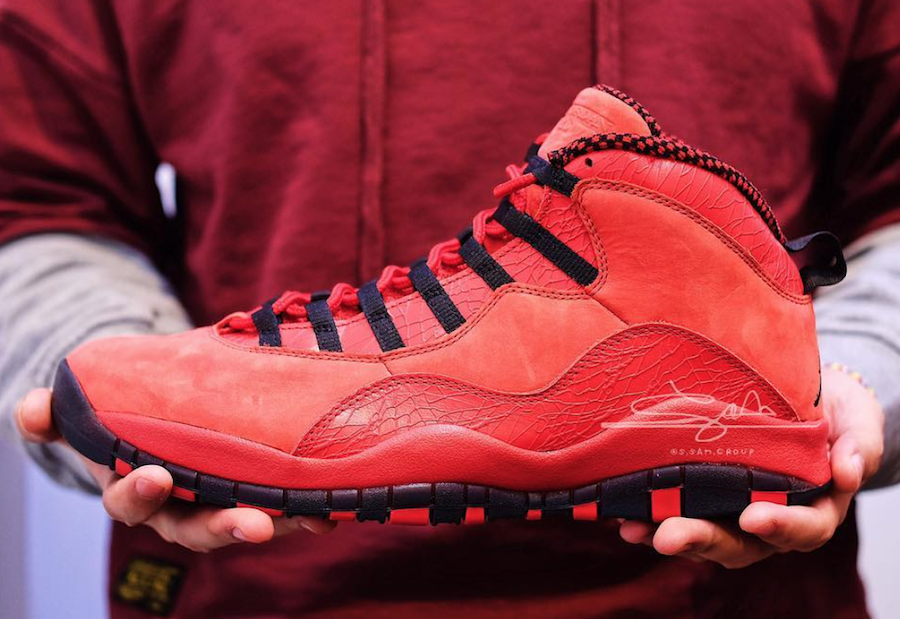 Air Jordan 10 House of Hoops Red