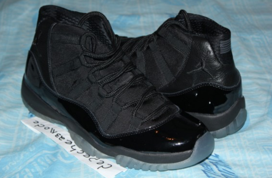 buy online 302cf 46d24 Air Jordan 11 Blackout 378037-005 Release Date | SneakerFiles