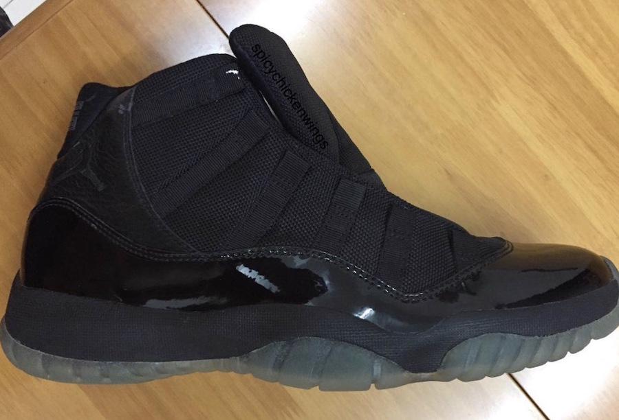 Air Jordan 11 Blackout 378037-005 2018