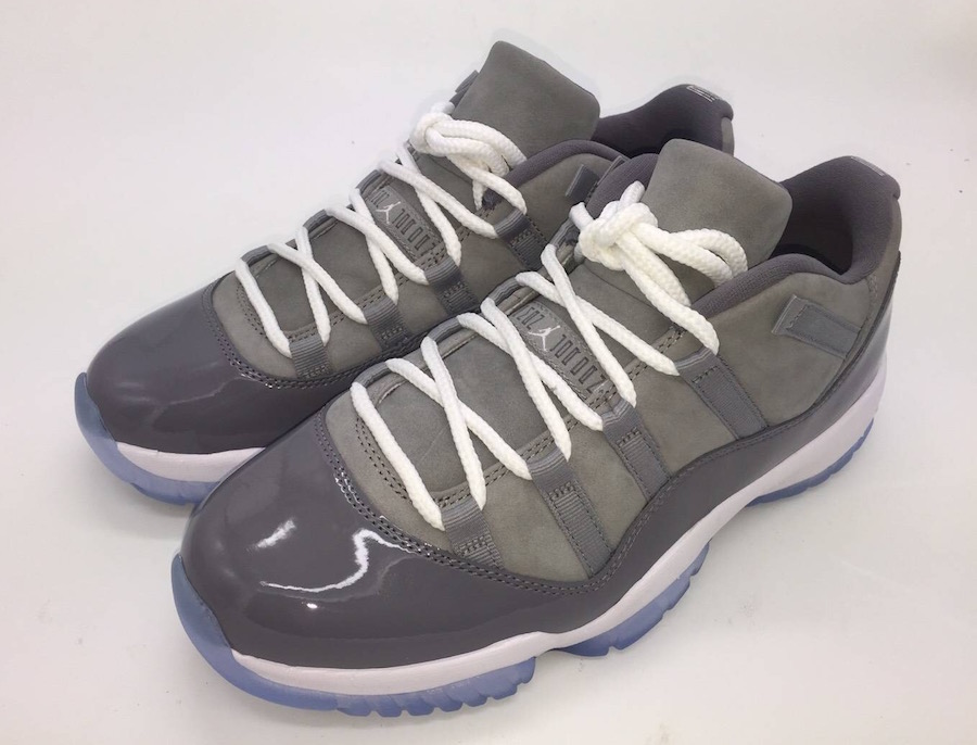 Air Jordan 11 Low Cool Grey 2018 Retro