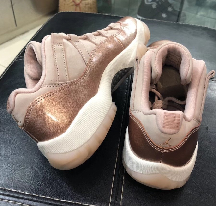 Air Jordan 11 Low Rose Gold AH7860-105