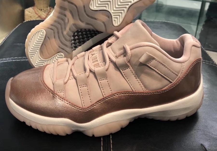 Detailed Look at the Air Jordan 11 Low 'Rose Gold'