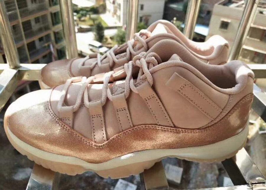 Air Jordan 11 Low Rose Gold Release Date