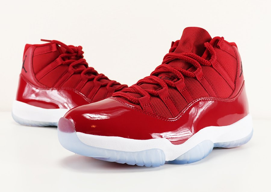 best service 2b0ad a5051 Air Jordan 11 Win Like 96 Gym Red Review