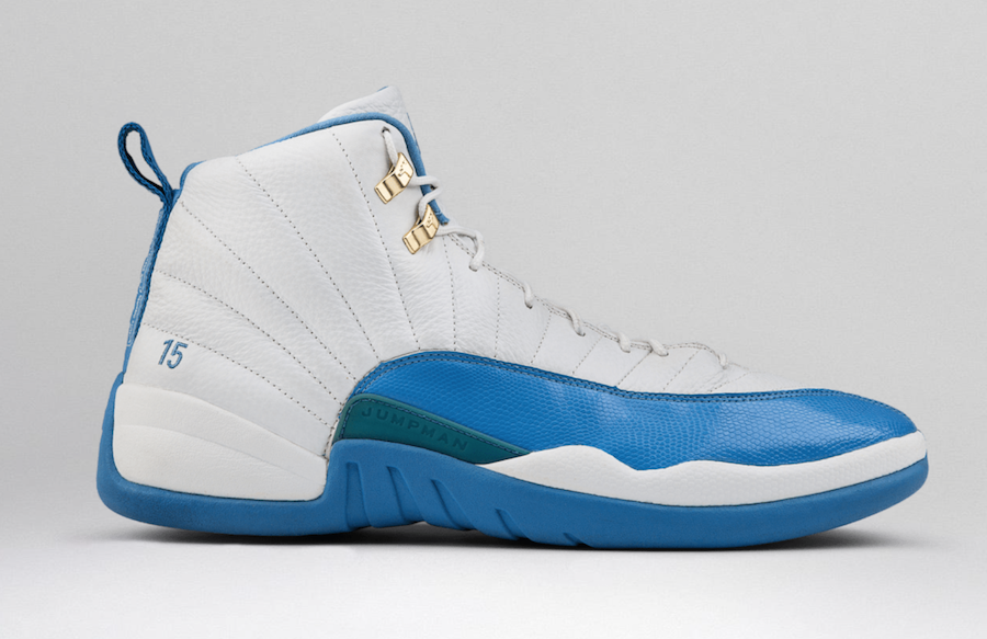 Air Jordan 12 Melo PE White Powder Blue 2003