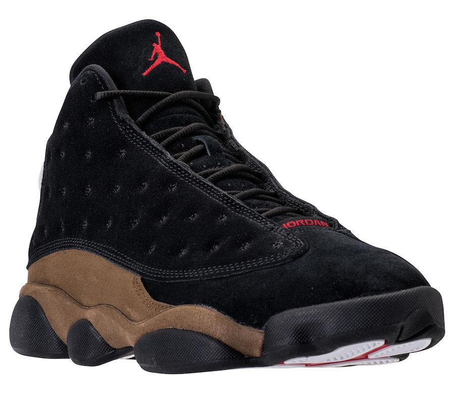 256da960db53af Air Jordan 13 Olive 414571-006 Release Date