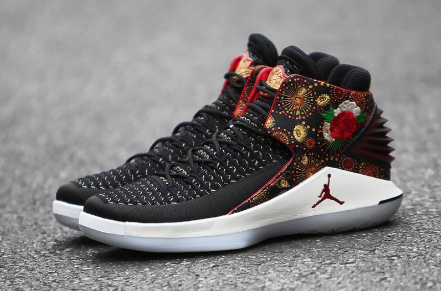 pretty nice 8aea3 ea0c4 Air Jordan 32 CNY Chinese New Year Release Date | SneakerFiles