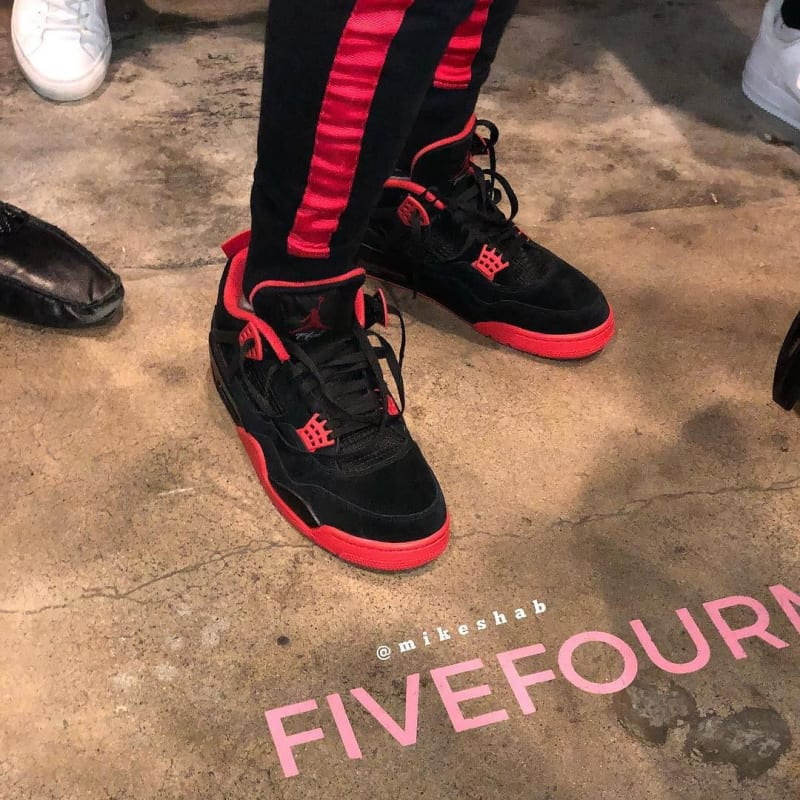 Air Jordan 4 Bred Unreleased PE Chris Paul