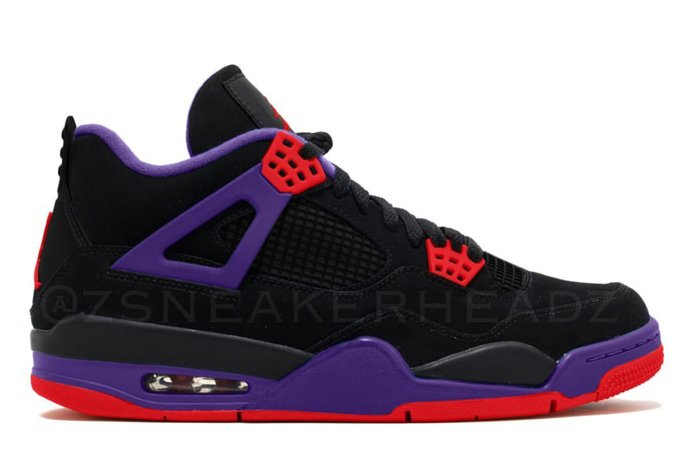 Air Jordan 4 NRG Black University Red Court Purple AQ3816-056