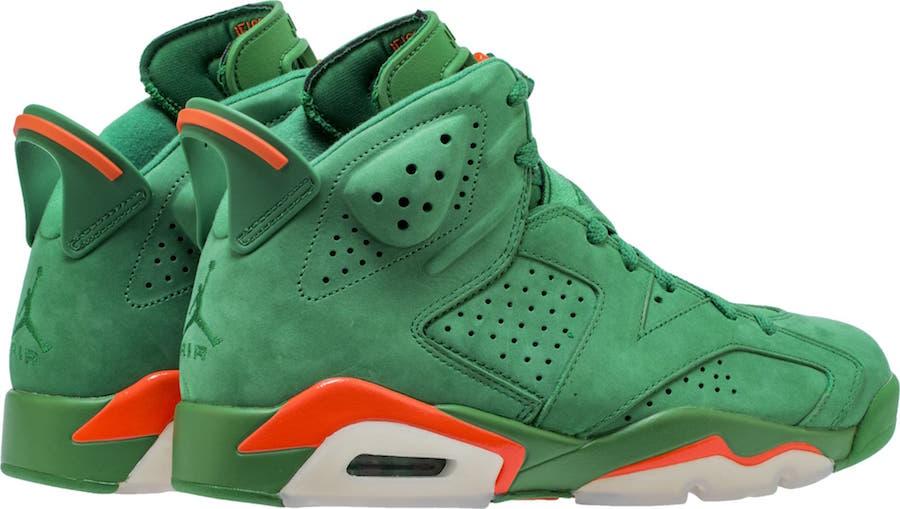 Air Jordan 6 Gatorade Green AJ5986-335 Release Date