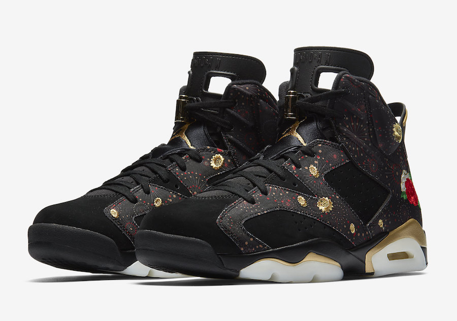 Air Jordan 6 Retro Chinese New Year AA2492-021 Release Date