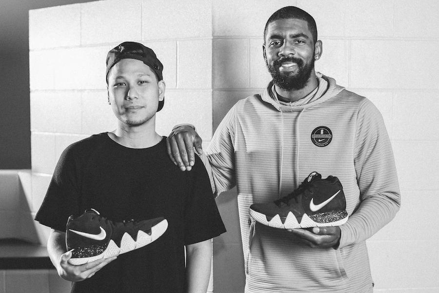 Kyrie Irving and Designer Benjamin Nethongkome Unveils the Nike Kyrie 4